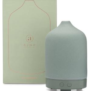 pastel green mint green essential oil diffuser